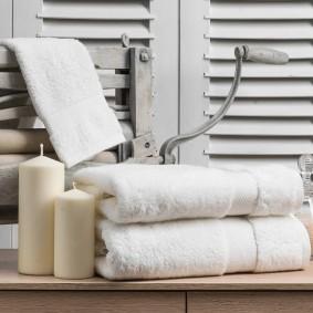 Inspiracja Ręcznik 50/100cm (550gsm) Biały - Tanio!