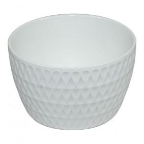 Biała Miseczka Ceramika Davos 13 cm