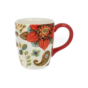 Kubek 400ml Zalipie Porcelana Texas