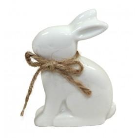 Figurka Ceramiczna Wielkanoc Królik 7cm