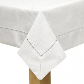 Inspiracja AURELIA II obrus 85x85cm biały
