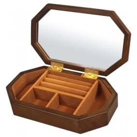 Szkatułka drewniana 6x25x15 Premium