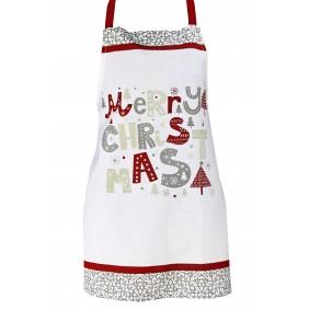 MERRY CHRISTMAS (wz. nr 2) - fartuch kuchenny Świąteczny