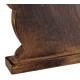 Drewniany Króliczek 23cm/16cm BRĄZ