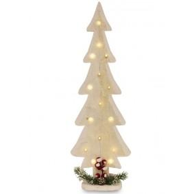Drewniane Drzewko Bożonarodzeniowe Podświetlane LED 60cm!