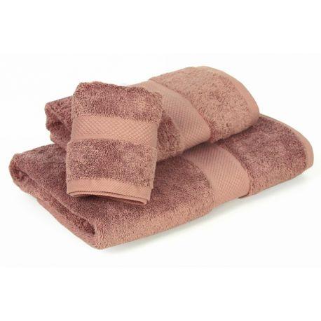INSPIRACJA COMBED - ręcznik 70/140cm (700gsm) - JASNY BRĄZ