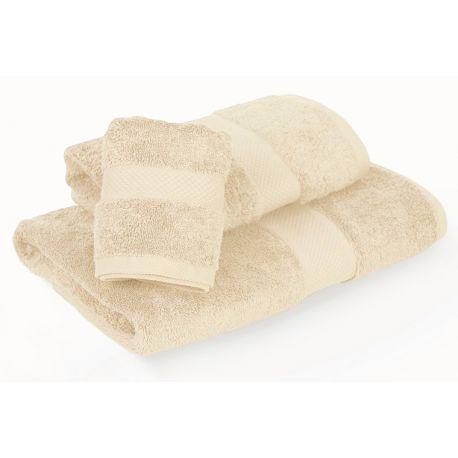 INSPIRACJA COMBED - ręcznik 70/140cm (700gsm) - KREM