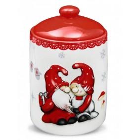 Pojemnik Świąteczny Mikołajki Porcelana Happiness Collection