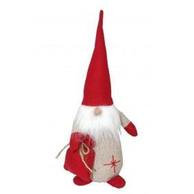 Świąteczny Stoper Do Drzwi Mikołaj