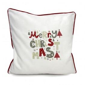 MERRY CHRISTMAS Świąteczna poszewka 45/45cm