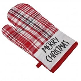 RENIFER KRATKA Świąteczna rękawica kuchenna