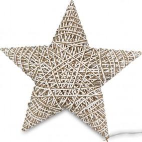 Gwiazda LED Świecąca Duża 47x50 cm!