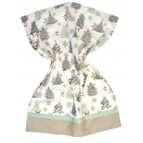CHOINKA/GWIAZDKI ) - świąteczna ścierka kuchenna 50/70cm