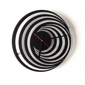 TIK TAK: robiący złudzenie zegar HOLL 40cm