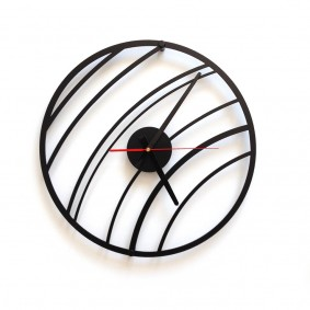 TIK TAK: Lekki geometryczny zegar ścienny COLLY 40cm