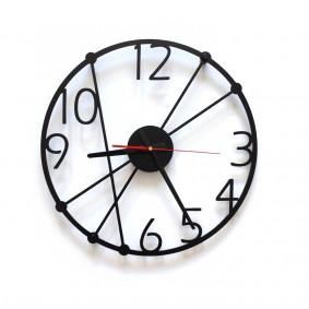 TIK TAK: Lekki i przyjemny zegar ścienny GENT 40cm