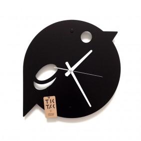 TIK TAK: zwracający uwagę zegar GRUBY BOB 40cm