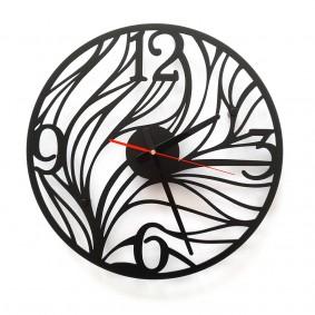 TIK TAK: ciekawy metalowy zegar MANCHE 40cm