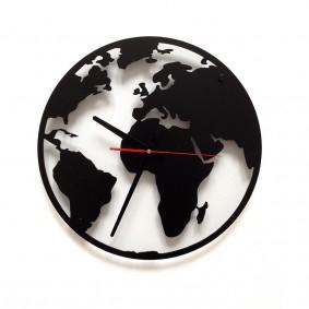 TIK TAK: Zegar GLOBE czyli mapa świata 40cm