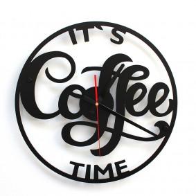 TIK TAK: Piękny i ciekawy zegar COFFE 40cm