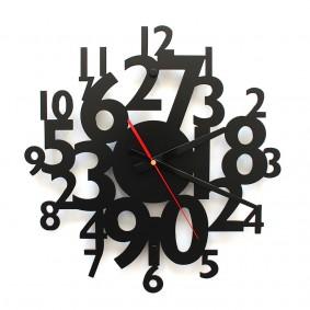 TIK TAK: Piękny i ciekawy zegar CYFRY 40cm