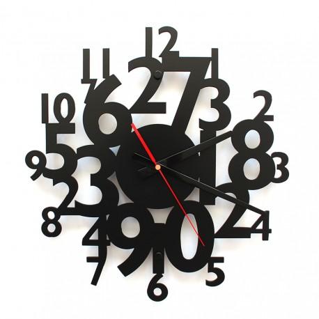 TIK TAK Piękny i ciekawy zegar CYFRY 40cm