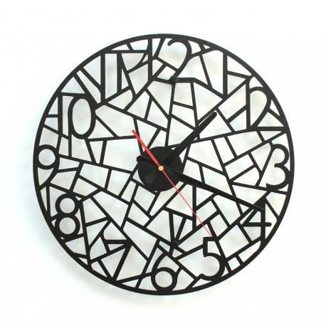 TIK TAK: Interesujący zegar FORMIC 40cm