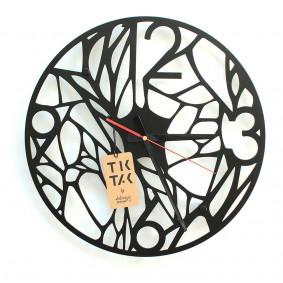 TIK TAK: Nietuzinkowy zegar/dekoracja GRASO 40cm