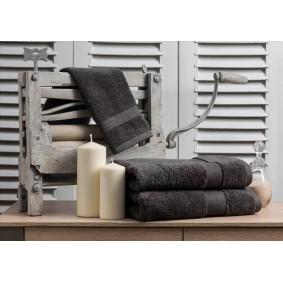 INSPIRACJA ZERO TWIST-ręcznik 50/100cm (600gsm)-ANTRACYT