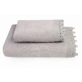 KORONKA IGA -ręcznik 70/140cm CAPPUCINO