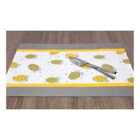 Wielkanoc JAJKA (żółć) - podkładka 35/50cm