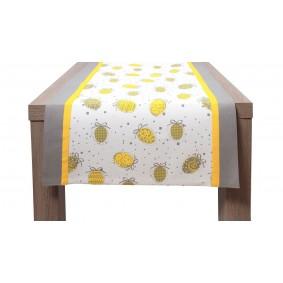 Wielkanoc JAJKA (żółć) -bieżnik 50/150cm