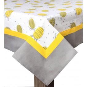 Wielkanoc JAJKA (żółć) - obrus 85/85cm