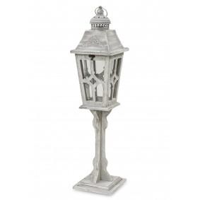 Lampion Drewniany Długi 79cm