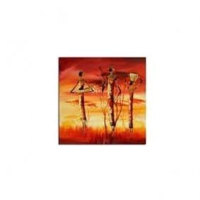 Obraz olejny w ramie Afryka G00533