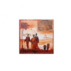 Obraz olejny w ramie Afryka G00544