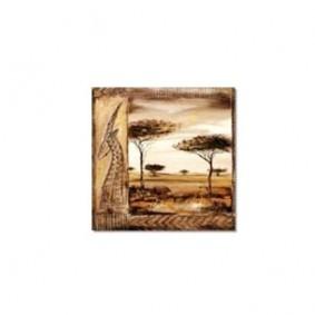 Obraz olejny w ramie Afryka G00545