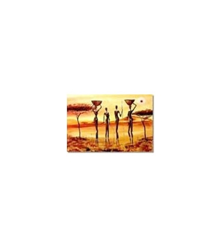 Obraz olejny w ramie Afryka G00552