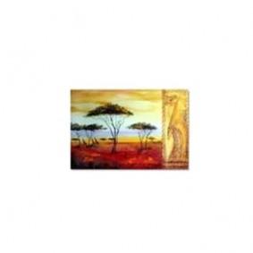 Obraz olejny w ramie Afryka G00557