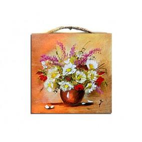 Obraz ręcznie malowany bukiet G00981