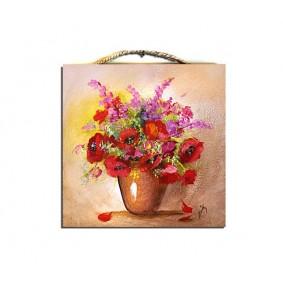 Obraz ręcznie malowany bukiet G02106