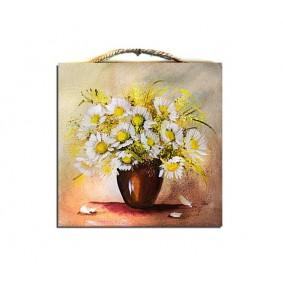 Obraz ręcznie malowany bukiet G02107