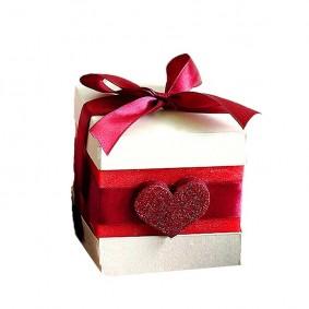 Świeca Kostka Walentynkowa