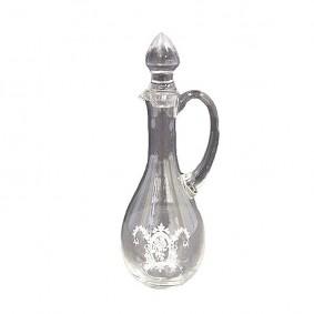 Karafka szklana zdobiona II