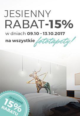 Fototapety - promocja 15%